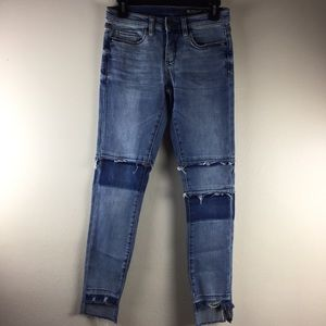 Blank NYC Skinny Classique Distressed Jean Pant 26